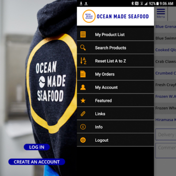 Ocean Made Seafood App – Now Available
